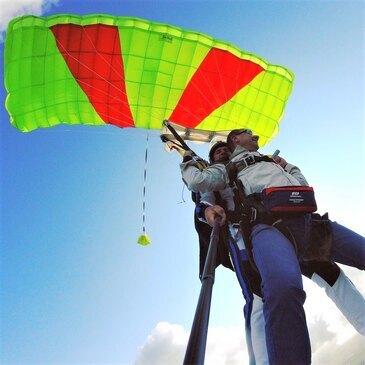 Saut en Parachute à Abbeville - Baie de Somme en région Picardie