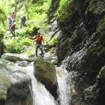 Canyoning au Lac d'Annecy