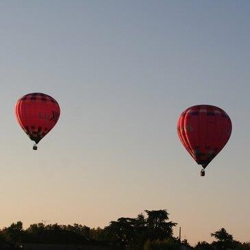 Albi, à 1h de Montauban, Tarn et garonne (82) - Baptême de l'air montgolfière