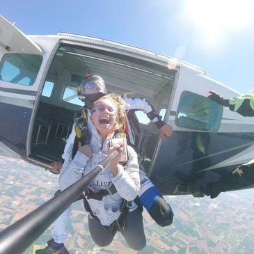 Saut en parachute en région Nord-Pas-de-Calais