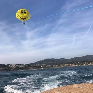 Parachute Ascensionnel à Bandol