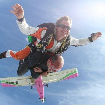 Saut en Parachute Tandem près d'Avignon