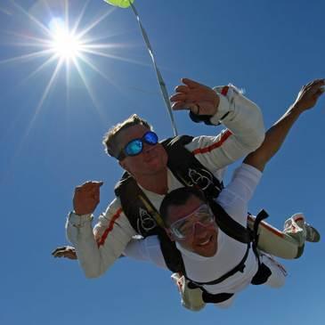 Saut en parachute, département Vaucluse
