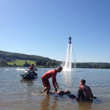 Lac de Pont-l'Évêque, Calvados (14) - Jet ski Scooter des mers