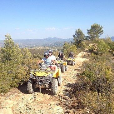 Randonnée en Quad au Castellet