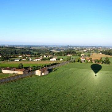 Albi, à 1h de Toulouse, Haute Garonne (31) - Baptême de l'air montgolfière