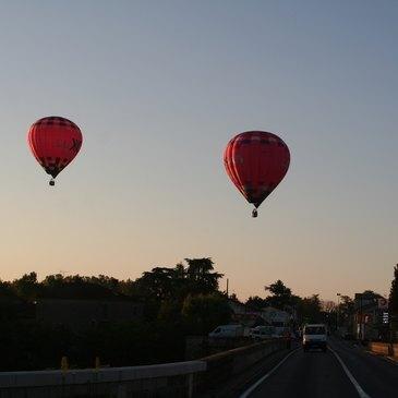 Baptême de l'air montgolfière proche Albi, à 1h de Toulouse