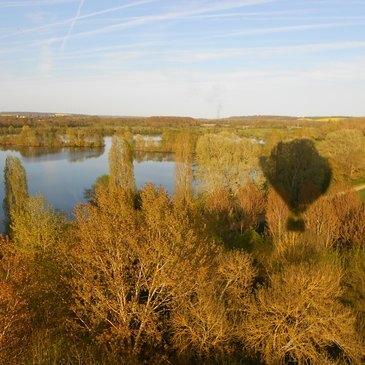 Poncé-sur-le-Loir, Sarthe (72) - Baptême de l'air montgolfière