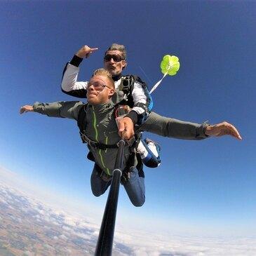 Saut en Parachute Tandem près de Strasbourg