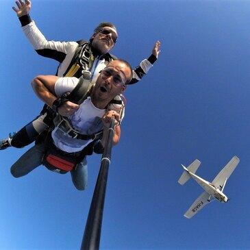 Saut en parachute, département Bas rhin