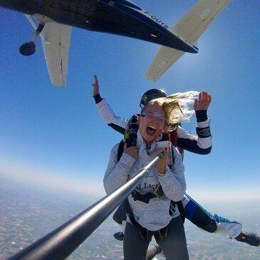 Aérodrome de Haguenau, Bas rhin (67) - Saut en parachute