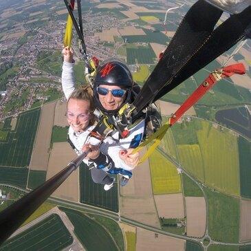 Saut en Parachute Tandem près de Strasbourg en région Alsace