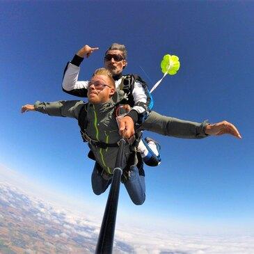 Saut en Parachute Tandem à Saint-Dié-des-Vosges