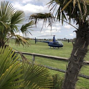 Stage initiation hélicoptère, département Dordogne