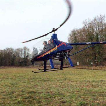 Baptême de l'air hélicoptère, département Seine et marne
