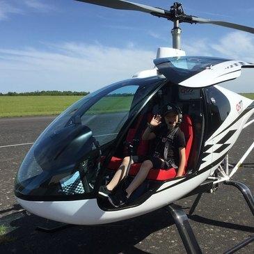 Stage initiation hélicoptère, département Eure et loir