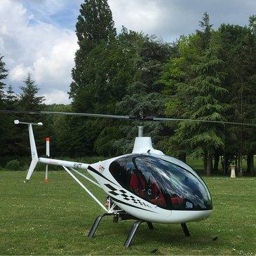 Aérodrome d'Étampes-Mondésir, à 50 min de Fontainebleau, Seine et marne (77) - Stage initiation hélicoptère