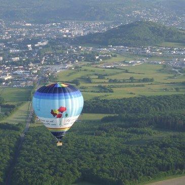 Baptême de l'air montgolfière, département Vosges