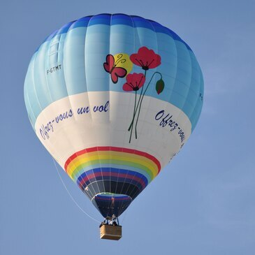 Baptême de l'air montgolfière proche Luneville, à 1h d'Epinal