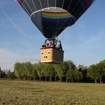 Vol en Montgolfière près d'Epinal en région Lorraine
