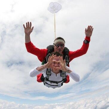 Saut en Parachute Tandem près de Millau