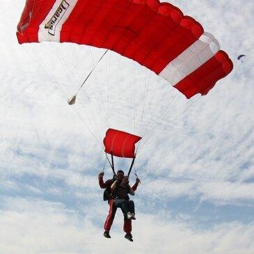 Saut en parachute, département Aveyron