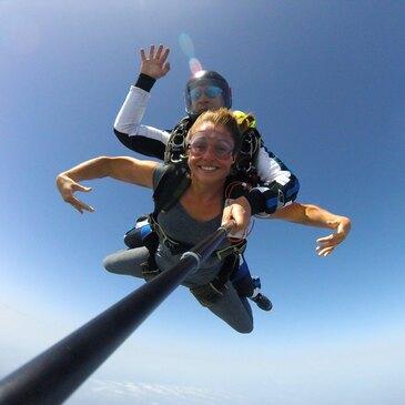 Saut en Parachute Tandem près de Colmar