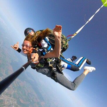 Saut en parachute, département Haut rhin