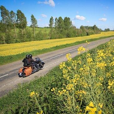 Balade à Moto à l'Ouest de Paris