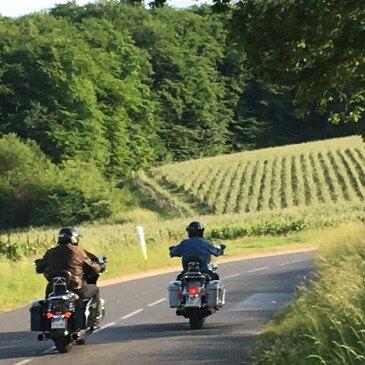 Week-end Balade à Moto en Champagne