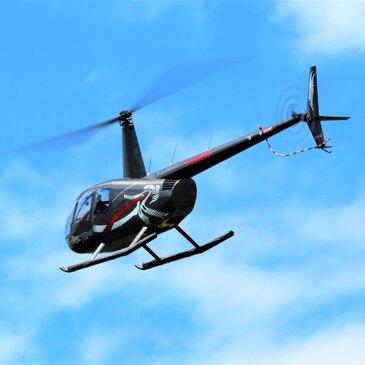 Baptême de l'air hélicoptère en région Alsace