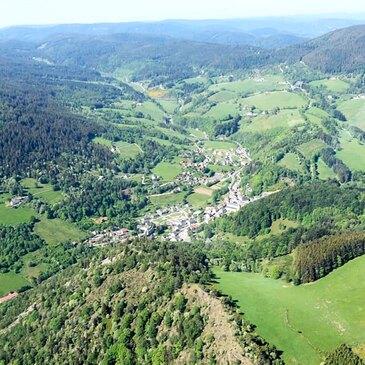 Aéroport de Colmar-Houssen, à 50 min de Strasbourg, Bas rhin (67) - Baptême de l'air hélicoptère