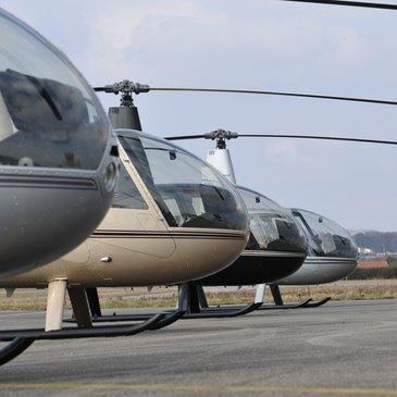 Pilotage d'Hélicoptère près de Strasbourg