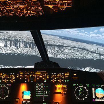 Simulateur de Vol en Airbus A320 près de Toulon