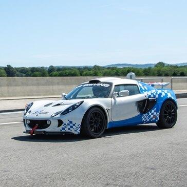 Stage en Lotus Exige S Cup - Circuit de Dijon-Prenois