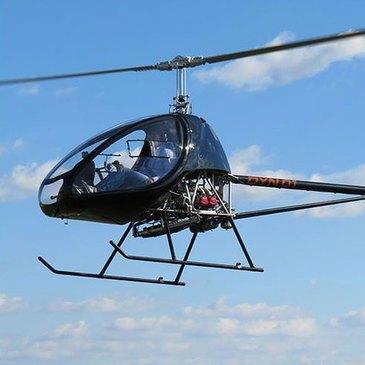 Baptême en Hélicoptère ULM près d'Aix-les-Bains