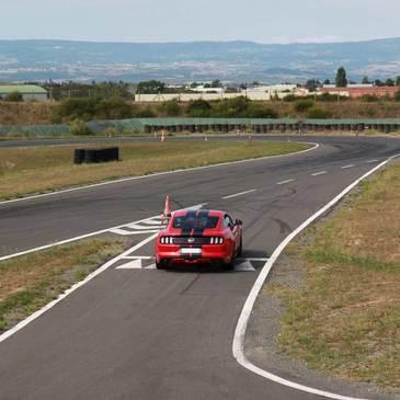Circuit de Saint-Laurent-de-Mûre, Rhône (69) - Stage de Pilotage Ford Mustang