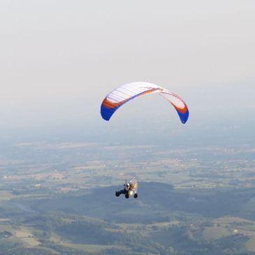 Baptême de l'air paramoteur proche Aéroport de Roanne