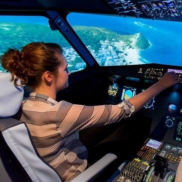 Simulateur de Vol en Avion de Ligne à Rennes