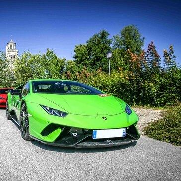 Stage sur Route en Lamborghini à Compiègne