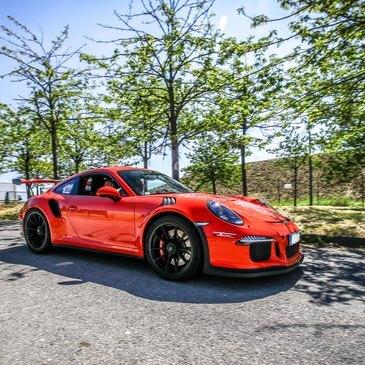 Stage sur Route en Porsche 991 GT3 RS à Compiègne