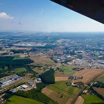 Offrir Baptême en ULM et Autogire en Bourgogne