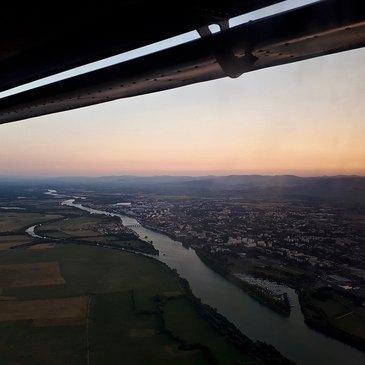 Aérodrome de Mâcon-Charnay, Saône et loire (71) - Baptême en ULM et Autogire