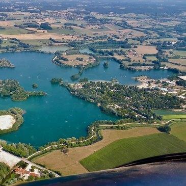 Baptême en ULM et Autogire proche Aérodrome de Mâcon-Charnay