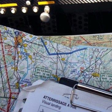 Pilotage ULM proche Aérodrome de Mâcon-Charnay