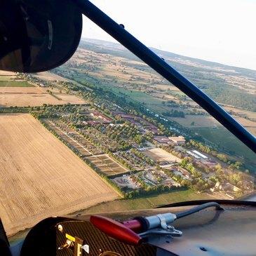Pilotage d'ULM Multiaxe à Mâcon en région Bourgogne