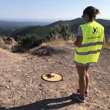 Pilotage de Drone en région Provence-Alpes-Côte d'Azur et Corse