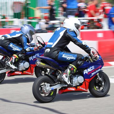 Initiation au Pilotage Moto Enfant - Circuit du Luc