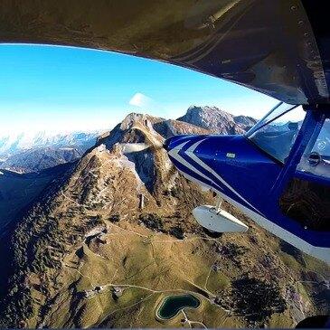 Baptême en ULM Multiaxe à Annecy - Massif du Mont-Blanc