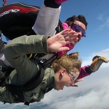 Saut en parachute, département Hautes pyrénées